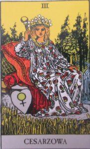 Tarot - karta Cesarzowa