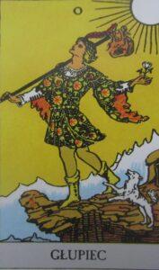 Tarot - karta Głupiec