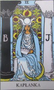Tarot - Karta Kapłanka
