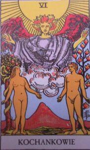Tarot - karta Kochankowie