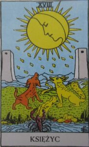 Tarot - Karta Księżyc