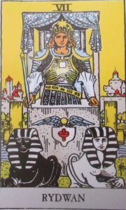 Tarot - karta Rydwan