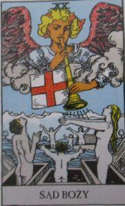 Tarot - Karta Sąd Boży