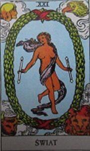 Tarot - Karta Świat
