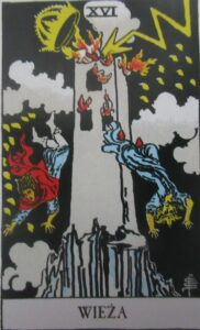 Tarot - karta Wieża