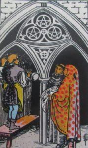 Tarot - karta 3 denary
