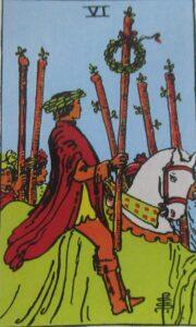 Tarot - karta 6 buław