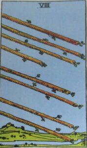 Tarot - karta 8 buław