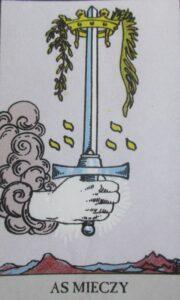 As mieczy - karta Tarota
