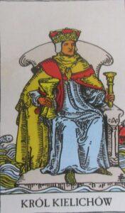 Tarot - karta król kielichów