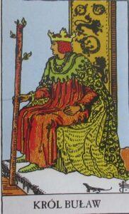 Tarot - karta królowa buław